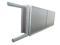 Fabricante de Tranp extruido de aletas de aluminio tipo tubo de aire del intercambiador de calor, el radiador de aire de secado y calefacción