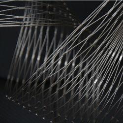 Anti-Falling Metal de alta resistência da malha de protecção para interior