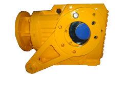 Reductor de velocidad del motor eléctrico de la serie K el engranaje cónico con eje Mouted ahuecado para equipos de minería