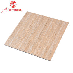 600X60 24x24polegadas com vidro polido completo porcelana design em madeira de azulejos do piso