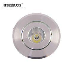 주방 범위 후드용 안전한 저전압 서클 LED 조명 회전 가능