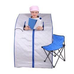 Home Use Turmalina Dobrável Mini Sala de Sauna Portátil