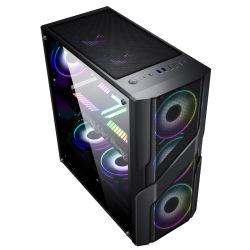 Hot Sale ATX Gaming Computer PC Cas avec la conception en acier inoxydable