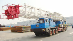 뜨거운 세일! ! 완벽한 서비스를 위한 Xj550/110T Workover Rig 트럭 장착형 천공 장비