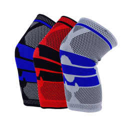 Sport Professional Silicone Anti-Collision Spring Support Basketbal kniebeschermers