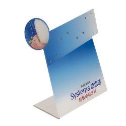 Kundenspezifischer Einzelhandelsgeschäft-Tisch-Oberseite-Zeichen-Kennsatz-Ausstellungsstand mit bekanntmachende Informations-Bildschirmanzeige