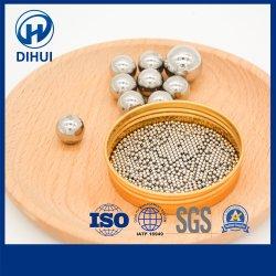 صناعة المرشة ذات جودة عالية بوصة معدنية مقاس 1/64 بوصة من الفولاذ المقاوم للصدأ الكرة كرة مغناطيسية AISI304