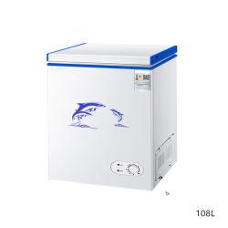 Полный холодильник морозильник домашнего кабинета емкость 108 л 128 л одной двери небольшой морозильной камере сверху открытой для приготовления чая и морепродукты морозильной камере