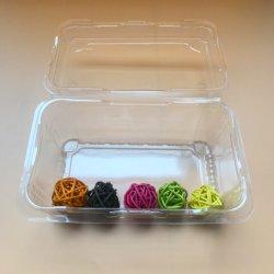 環境に優しいペットクラムシェルのプラスチック皿の食糧ボックスフルーツ野菜包装ボックス
