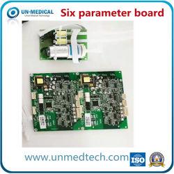 Scheda a sei parametri standard per strumenti medicali portatili Un93