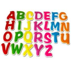 Продажи с возможностью горячей замены цветные буквы из ПВХ с логотипом холодильник магнит для рекламных материалов