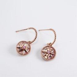 Regalo dell'orecchino delle coperture di stella migliore per il commercio all'ingrosso di alta qualità di prezzi diretti della signora Custom Popular Factory