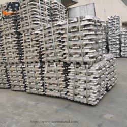 Hoher Reinheitsgrad-Aluminiumbarren 99%-99.9%