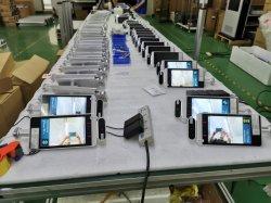 Tela em vários idiomas com Dynamic reconhecimento de faces e inspeções termográficas Câmara IP para Controle de Acesso