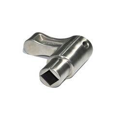 Pintura de aluminio colado de cocción de la pasivación personalizado parte fundidas las ruedas de hierro fundido de metal forjado Froged Kazan forjado fundición de hierro fundido Quemador de Gas