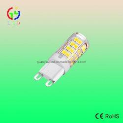 Прозрачной крышке печатной платы светодиод G9 51SMD 2835 лампы, светодиодные G9 4W Bi-Pin лампы, светодиодные G9 прямой заменой канал сигнальных ламп