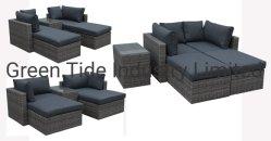 Im Freien Freizeit-Weidenrattan-Ausgangspatio-Garten-moderne Möbel