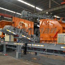 Frantumatore da roccia diesel ad alta efficienza Shanman