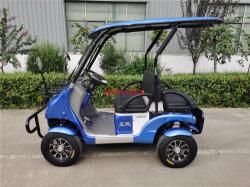 Golf cart elettrico a 4 ruote con batteria al litio per adulti intelligente