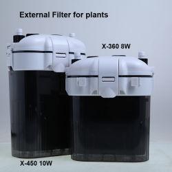 مرشح علبة خارجية للأAquariums & النباتات 10W 450 L/H