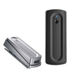 Kw-Bm03 Omnidireccional Micrófono de clip inalámbrico Bluetooth