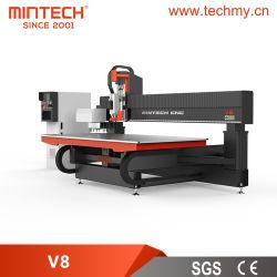 Macchine da taglio a fresatrice a 3 assi Muti (V8) per apparecchiature pubblicitarie