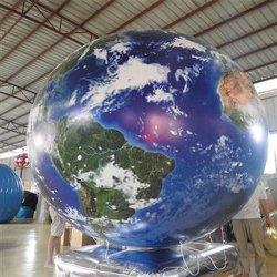 Helio insufláveis balão Globo para o evento