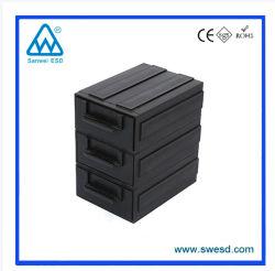 静電気防止用容器引き出しタイプ ESD プラスチック包装容器電子製品用、静電気防止用 ESD 梱包箱