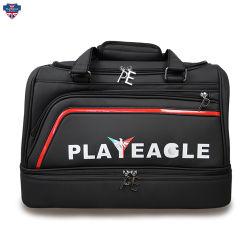 Vêtements de luxe personnalisé pour les chaussures bagages PU Boston Sac de golf