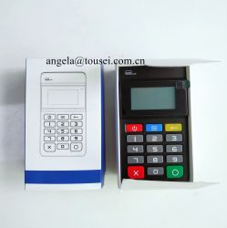 MP45 de veilige Draadloze Lezer van de Kaart Bluetooth Mini Mobiele EMV PCI NFC Mpos met Pinpad