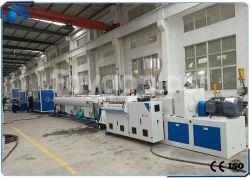 El drenaje del tubo de plástico de PVC que hace la máquina