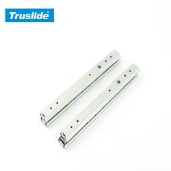20mm en aluminium Mobilier Matériel Canal télescopique le roulement à billes des coulisses de tiroir Rails