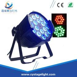 18×8 واط، مصباح LED متعدد الألوان داخلي، 4 في 1، ضوء CAN لكل بوصة داخلية