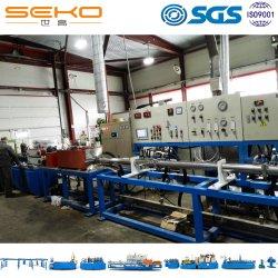 Tipo de línea de producción continua de cartón ondulado de calentamiento por inducción de la máquina de recocido