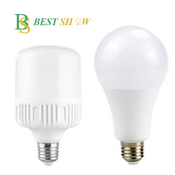 La Chine usine CE FABRICANT 110V 220V Global T A60 A65 la lumière d'urgence rechargeable 3W 5W 7W 9W 10W 12W 15W 18W 20W 30W 40W 50W E27 B22 Ampoule de LED à gradation