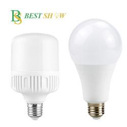 Китай на заводе изготовителя CE 110V 220V глобальной T A60 кукурузы лампа аккумулятор аварийного 3W 5W 7W 9W 10W 12W 15W 18W 20W 30W 40W 50Вт E27 B22 светодиодная лампа с регулируемой яркостью