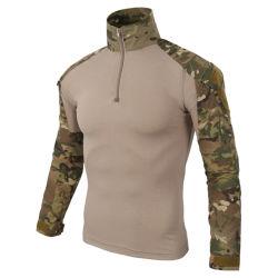 17 colori che cacciano la camicia tattica del camuffamento di combattimento delle parti superiori di addestramento militare