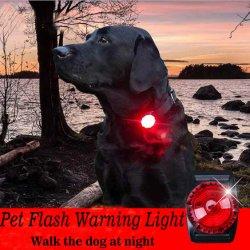 Clip-sur Pet Collier pour chien - Chien de lumière à LED pour les colliers des feux