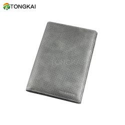 실제적인 가죽 Foldable 여권 홀더 카드 홀더