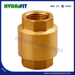 Clapet antiretour en laiton Non-Return avec S. S. filtrante (MF34001)