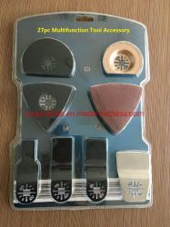 27PC Kit de hoja de sierra multifunción