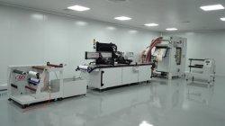 Kleidungsetiketten Automatischer Siebdrucker mit SPS-Steuerung