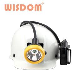 첨단 ATEX 승인 지혜서 - Kl12ms 광산 안전 헬멧 헤드램프/캡 램프