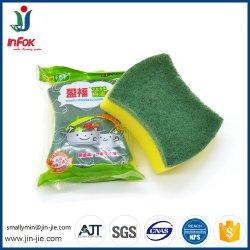 最もよい販売Nylon 台所クリーニングの磨くパッドSponge  (JJ-YF329)