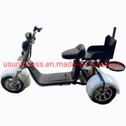 Nuevo diseño de los neumáticos de la grasa triciclo eléctrico carritos de Golf de pasajeros del aeropuerto alquiler de carros de golf Vintage