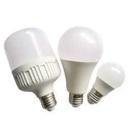 La Chine fournisseur Energy Saving lumière AC DC A60 E27 B22 3W 5W 9W SMD LED avec du SKD de matières premières de l'ampoule