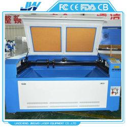 1016 100W la gravure au laser Découpe du cuir/d'un insigne de la machine tissu numérique de la faucheuse