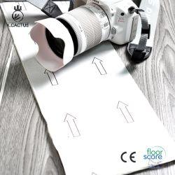 Qualidade superior 6''x36''self Ladrilho de vinil adesiva PVC piso de madeira