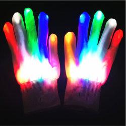 Galvano leuchten Handschuh-Set für Parties u. die gekennzeichneten Licht-Erscheinen
