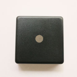 60 mm resistente al agua de buena calidadContraportada con orificio central de 10 mm